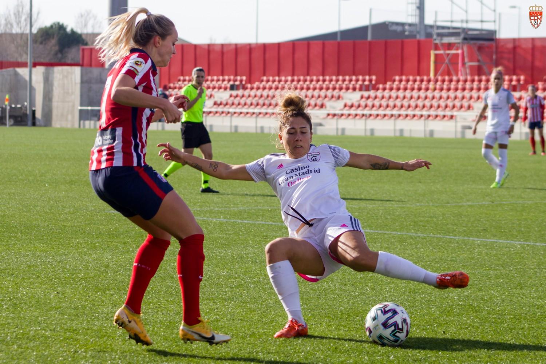 FOTOS / Silvia Esteban (RFFM) - Atlético Madrid - Madrid CFF 0-1 (Primera Iberdrola - Jornada 11)