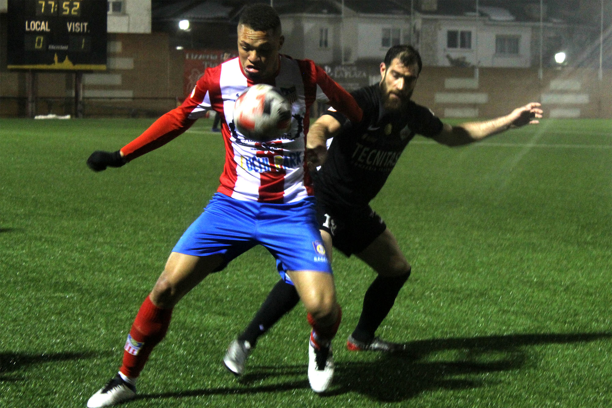 VÍDEO / Andrés Santana (RFFM) - Navalcarnero - UD Sanse 1-1 (Segunda B - Subgrupo 5A - Jornada 10)