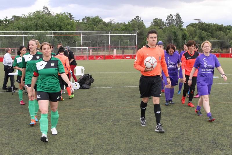 Federación Fútbol de Madrid-Éxito del I Torneo de Veteranas 4d6d14d91358e