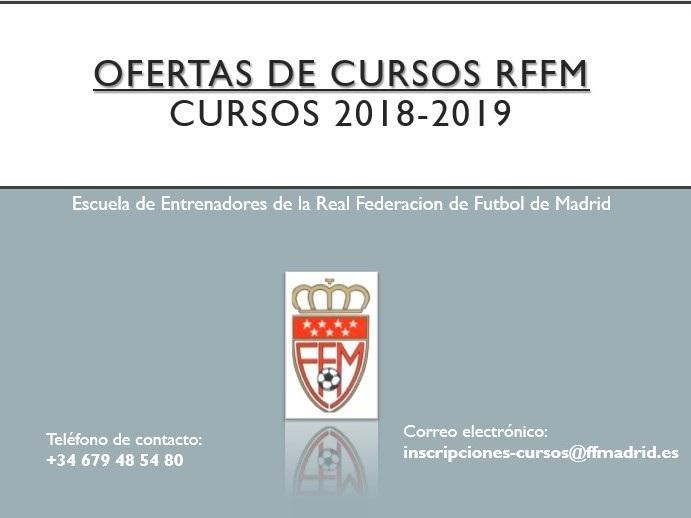 Federacion Futbol De Madrid Conoce La Amplia Oferta De