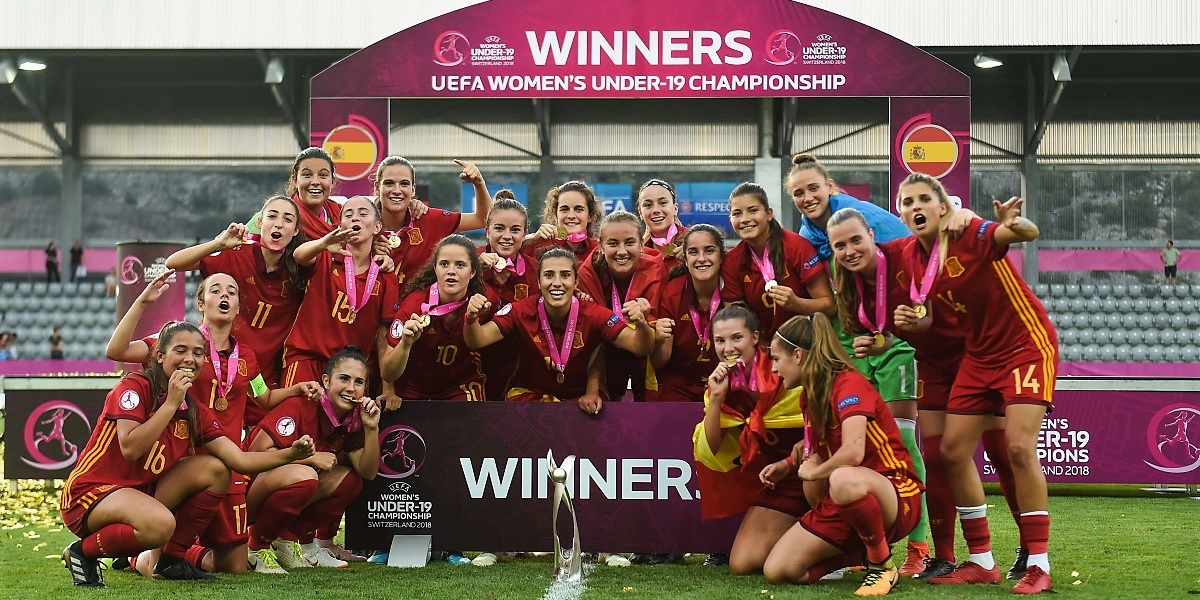 El fútbol femenino español reina en Europa 1850567ff556f