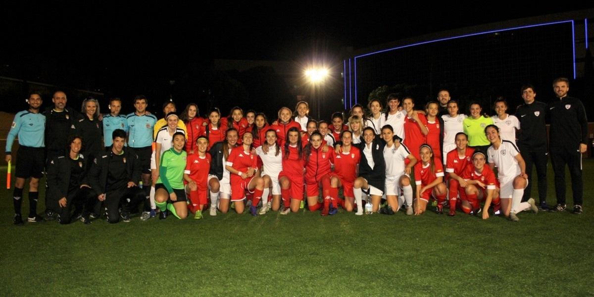 Exigente ensayo de la selección Sub-17 femenina frente al Madrid CFF B ed746f0d75995