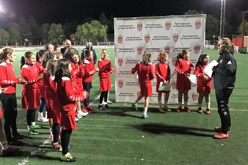 Federación Fútbol De Madrid Finalizado El Primer Bloque Del Centro